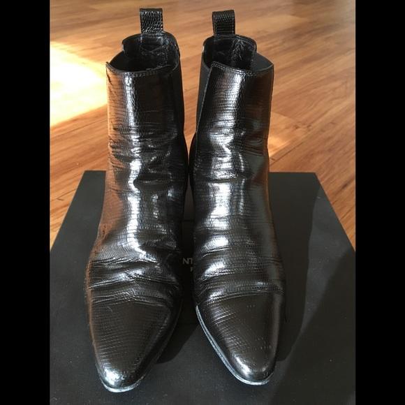 958d3709c98 Saint Laurent SLP Chelsea Dakota Boots Black 35